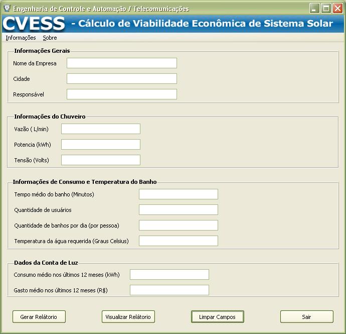 Tela do CVESS