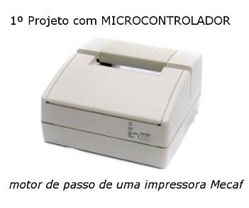 Primeiro projeto com microcontrolador