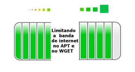 Limitando o uso da banda de internet no APT e no WGET