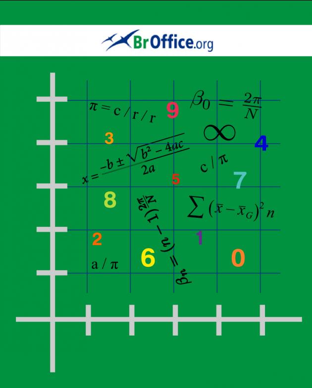 Fórmulas matemáticas no BROffice