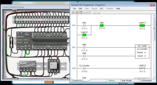 Programação Lógica de CLP's com ladder e FSM